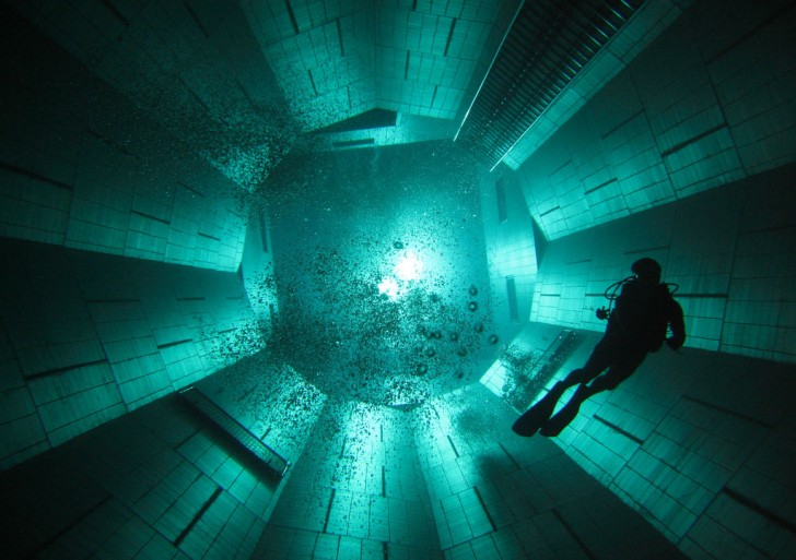 Nemo 33  – The Deepest Indoor Diving Pool in the World