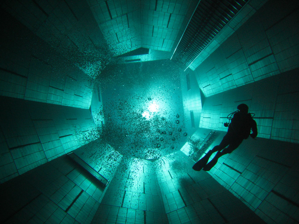 Nemo 33 The Deepest Indoor Diving Pool In The World Ideasgn