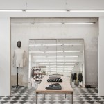 Our Legacy Shop Store ides+sgn in Gothenburg by Arrhov Frick Arkitektkontor