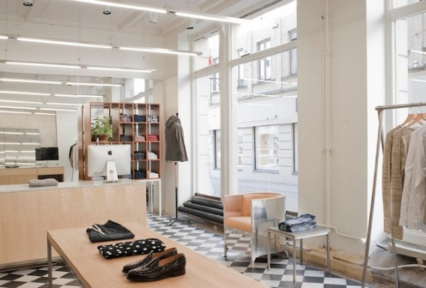 Our Legacy Store ides+sgn in Gothenburg by Arrhov Frick Arkitektkontor 9