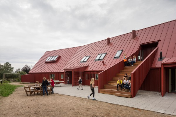 Red Youth Center in Roskilde Denmark Conversion idea+sgn by Cornelius+ Voge 4