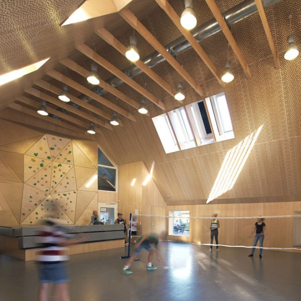 Red Youth Center in Roskilde Denmark Conversion idea+sgn by Cornelius+ Voge 7
