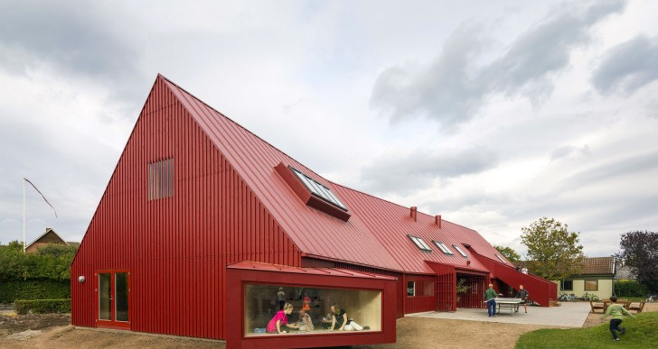 Red Youth Center in Roskilde, Denmark / Cornelius + Vöge