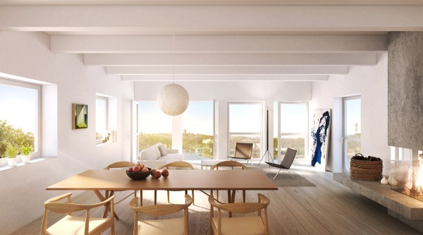Saltsjöterrassen Apartments idea+sgn in Stockholm by Arrhov Frick 3