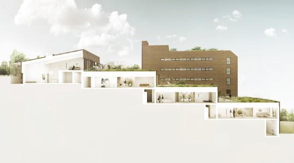 Saltsjöterrassen Apartments idea+sgn in Stockholm by Arrhov Frick Plan