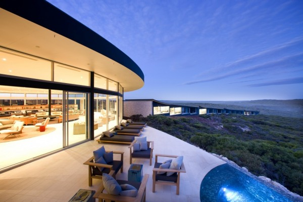 Southern Ocean Lodge Spa resort idea+sgn Australia by Max Pritchard Architect 15