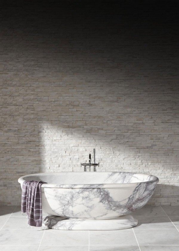 Stone Bathware by Mandarin Stone at IDEASGN 1