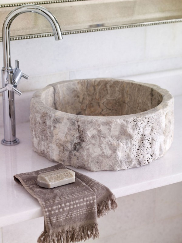 Stone Bathware by Mandarin Stone at IDEASGN 1836-silver-splitface-lunar-basin