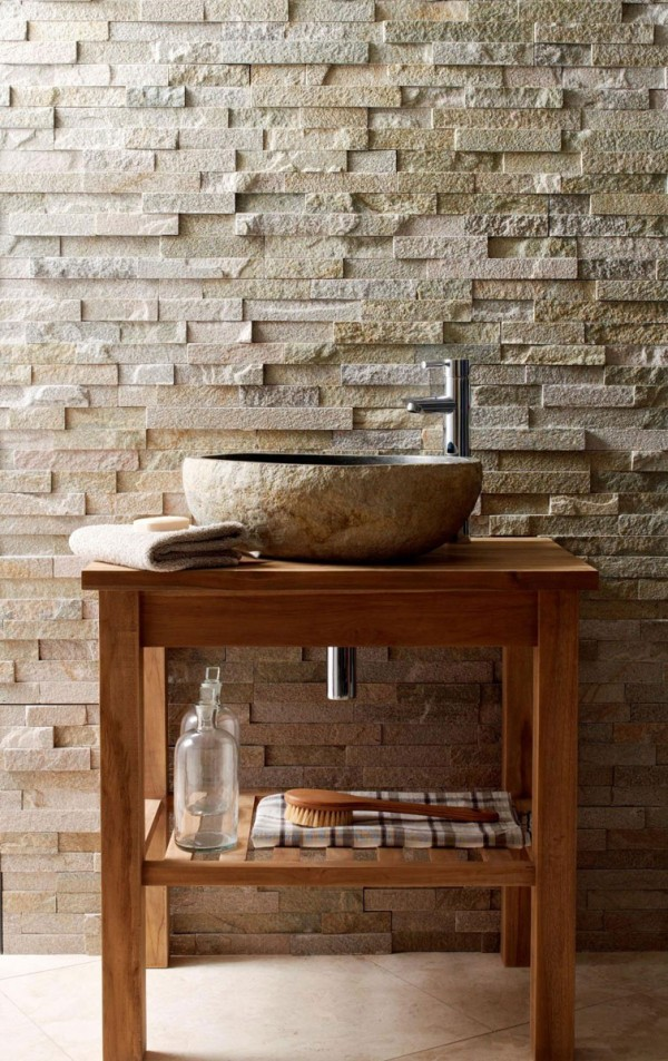 Stone Washbasin by Mandarin Stone at IDEASGN
