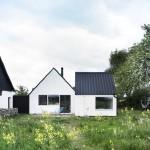 Summerhouse Skåne Conversion idea+sgn in Sweden by LASC Studio 14