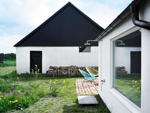 Summerhouse Skåne Conversion idea+sgn in Sweden by LASC Studio 2