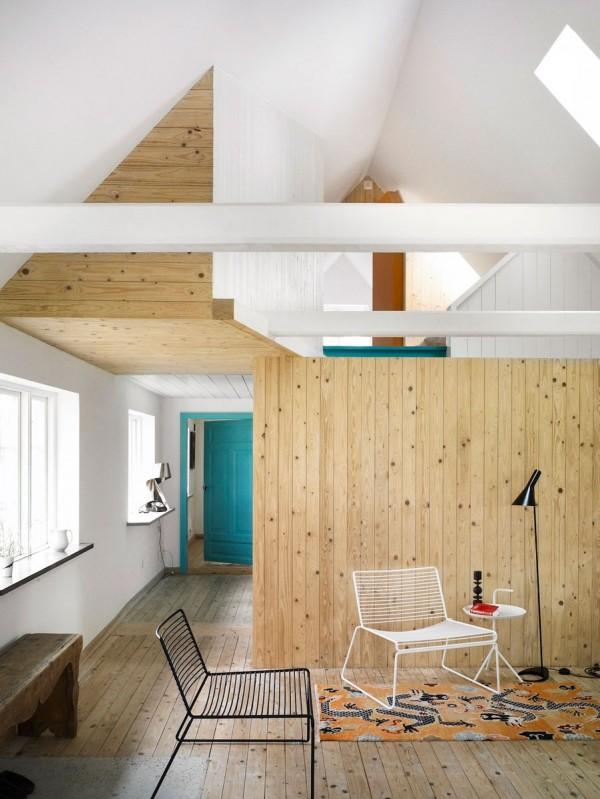 Summerhouse Skåne Conversion idea+sgn in Sweden by LASC Studio 3