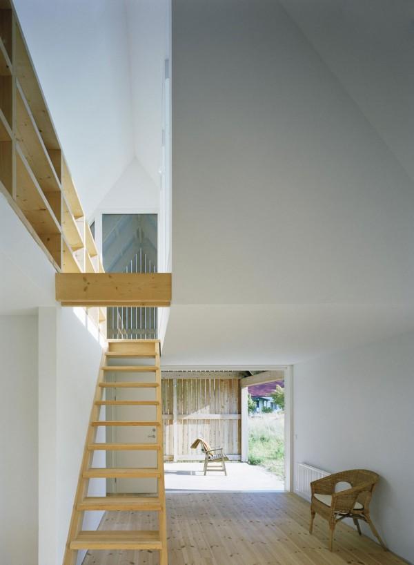 Summerhouse in Stora Gasmora Sweden Wood House idea+sgn by LLP Arkitektkontor 12