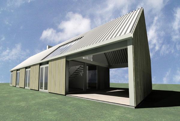 Stora Gasmora Sweden Wood House Idea Sgn By LLP Arkitektkontor Plan 2