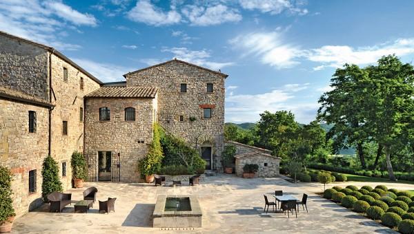 Villa Arrighi Castello di Reschio