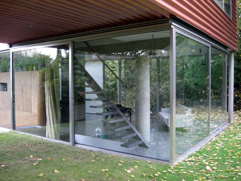Villa Dall Ava In Paris Ideasgn By Rem Koolhaas OMA 9 Ideasgn