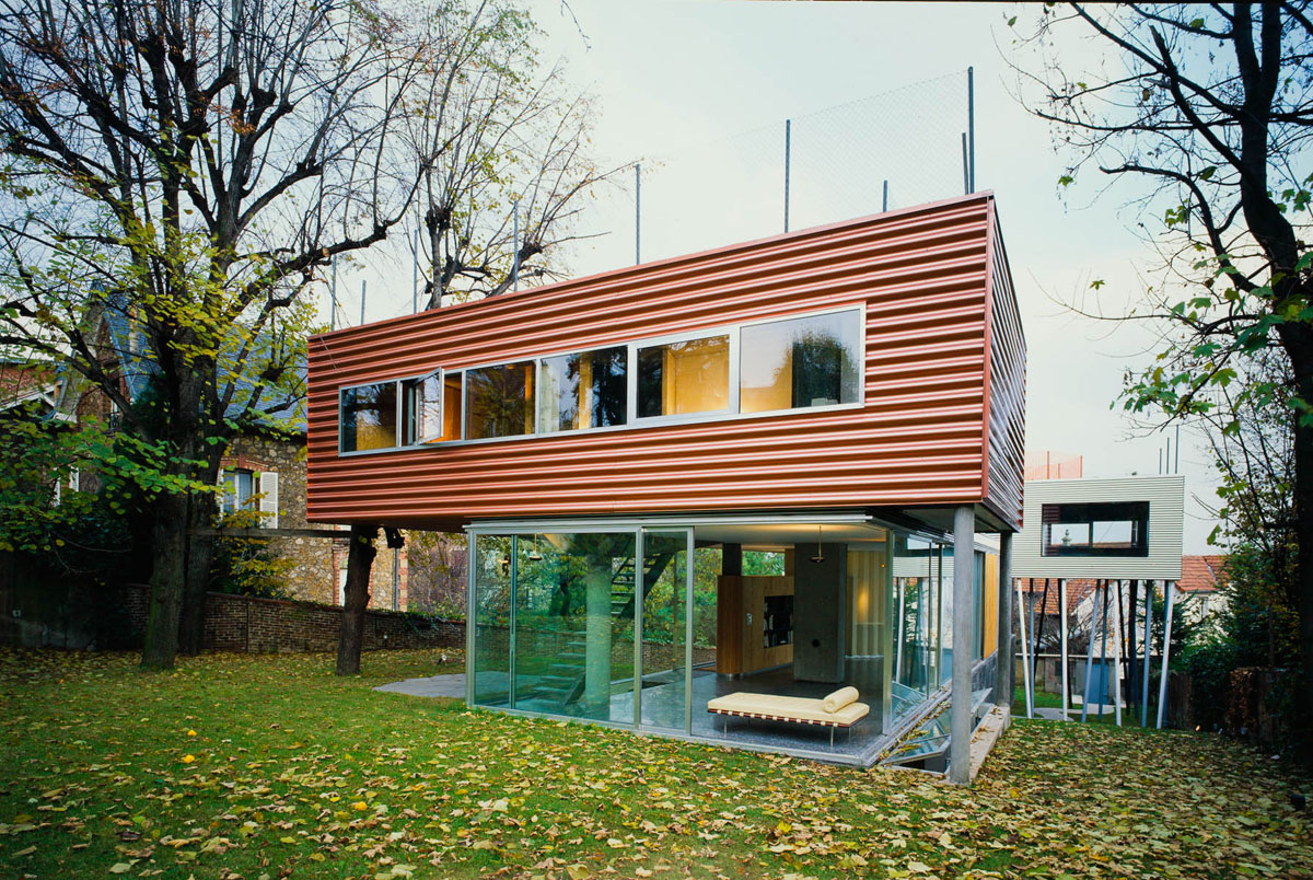 Admirable Villa Dallava In Paris Oma Ideasgn Download Free Architecture Designs Rallybritishbridgeorg