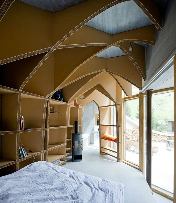 Villa Vals in Switzerland idea+sgn by SeARCH and Christian Muller Architects 11