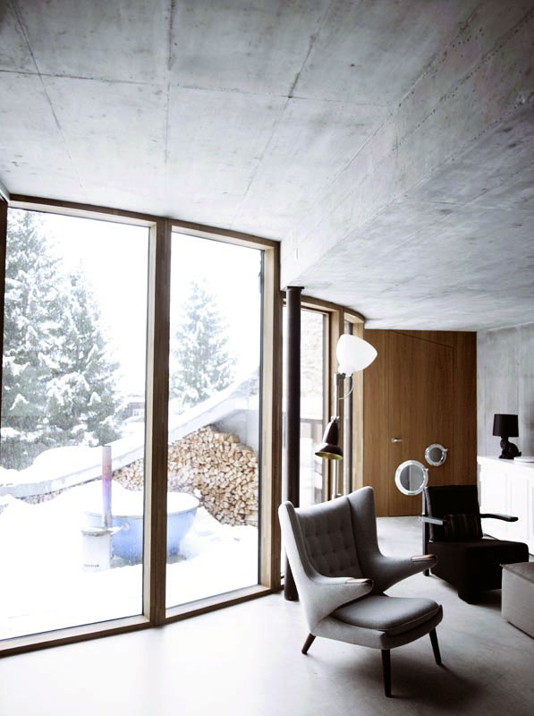 Villa Vals in Switzerland idea+sgn by SeARCH and Christian Muller Architects 24