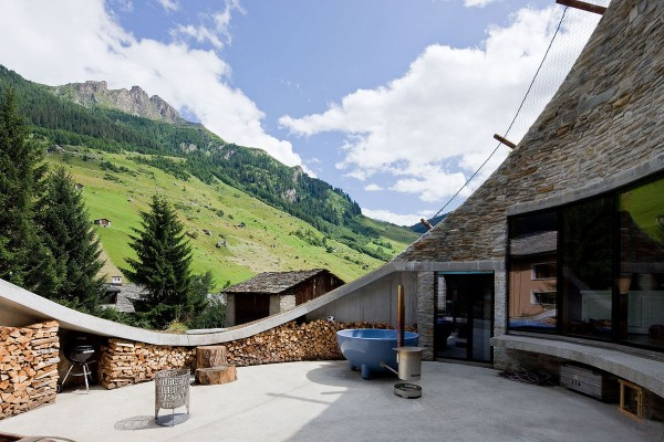 Villa Vals in Switzerland idea+sgn by SeARCH and Christian Muller Architects 5