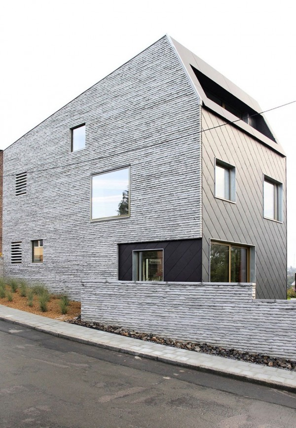 Wall House idea+sgn in Belgium by ANDROL architecture 7