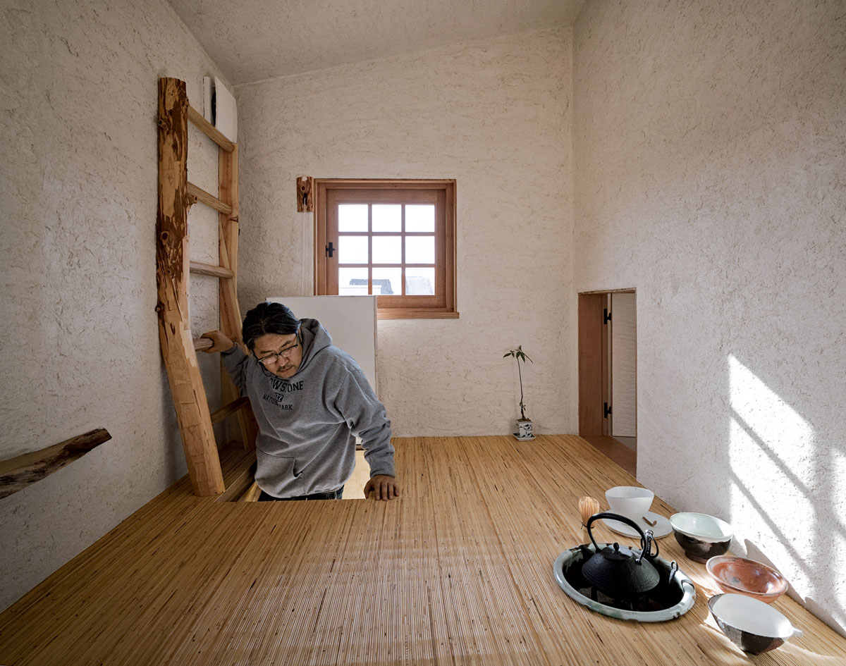 Fujimori Terunobu Coal House Tea Room Portrait Ideasgn