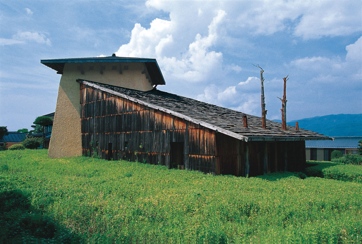 fujimori terunobu jinchokan moriya historical museum exterior ideasgn. Black Bedroom Furniture Sets. Home Design Ideas