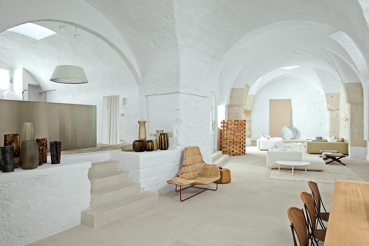 Designer home ludovica roberto palomba vacation house in for Piani di house designer casa