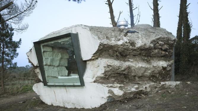 Truffle Rock House by Ensamble Studio