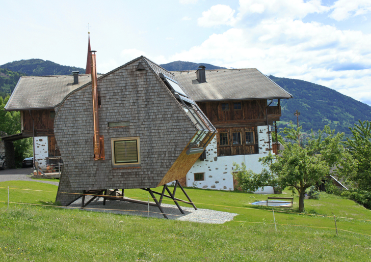 Tiny House Ufogel with Breathtaking Views of the Alps