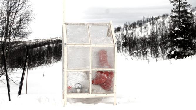 Noun 1. Unavailability Ice Fishing Shelter by Gartnerfuglen Arkitekter