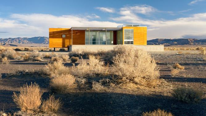 Rondolino Desert Residence by nottoscale