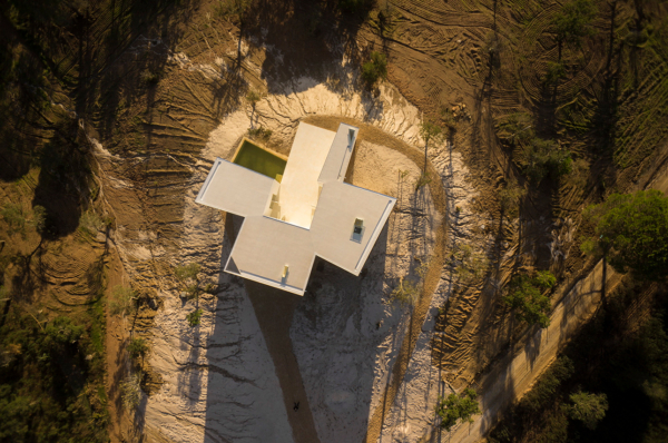 House in Melides Aerial by Manuel Aires Mateus