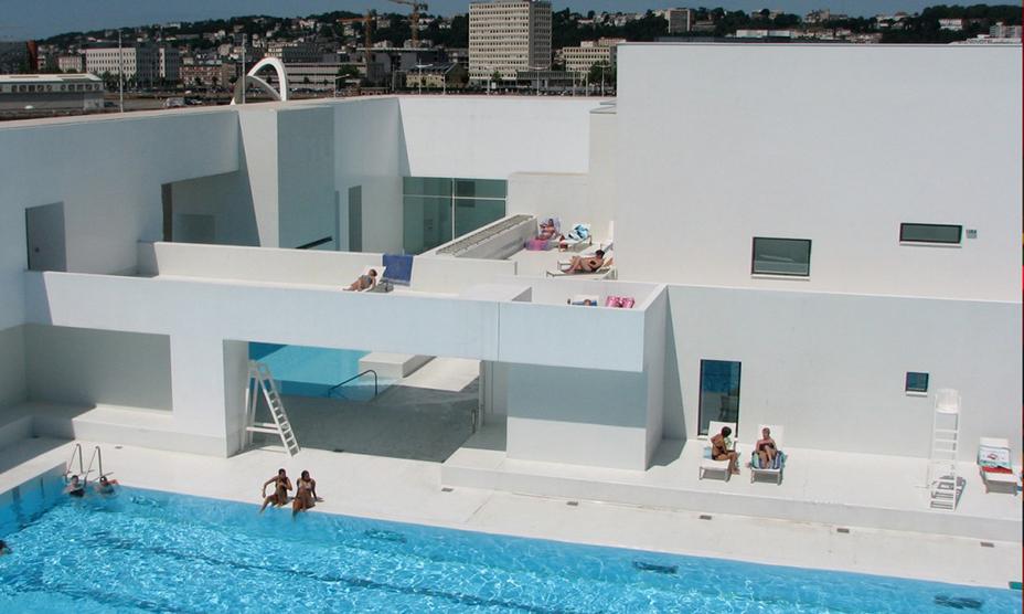 les bains des docks by jean nouvel ideasgn. Black Bedroom Furniture Sets. Home Design Ideas