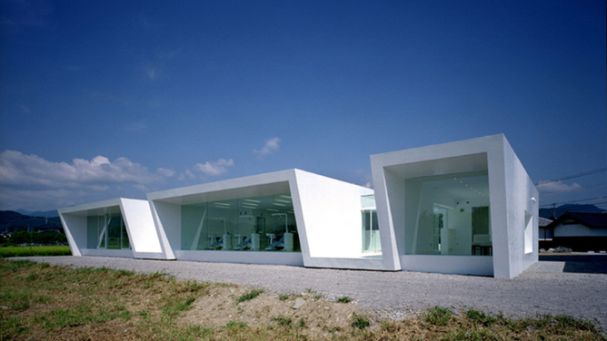 Minami-Nagano Dental Clinic & Residence by Hiroki Tanabe