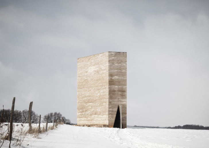 Bruder Klaus Kapelle by Peter Zumthor