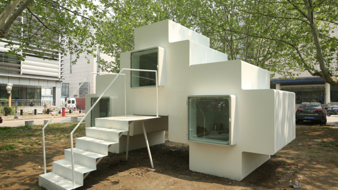 Micro House Unit by Studio Liu Lubin