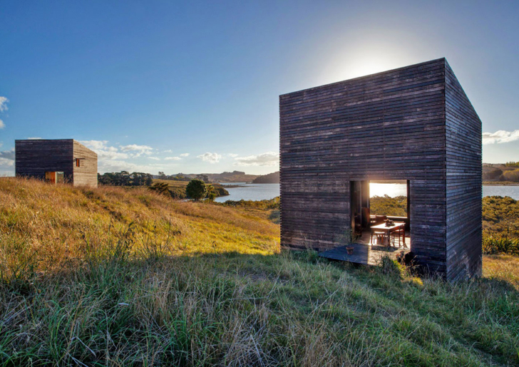 Twin Cabins Eyrie by Cheshire Architects