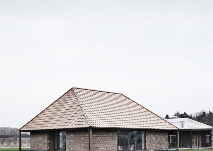 Brick House in Nyborg by Leth & Gori