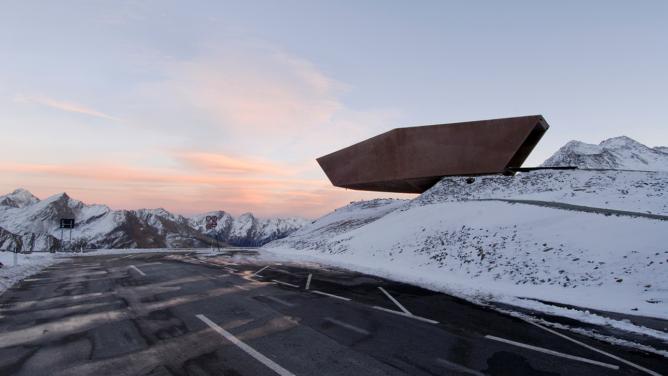 Pass Museum Timmelsjoch by Werner Tscholl