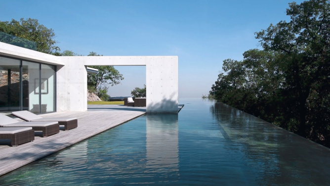 House in Monterrey by Tadao Ando