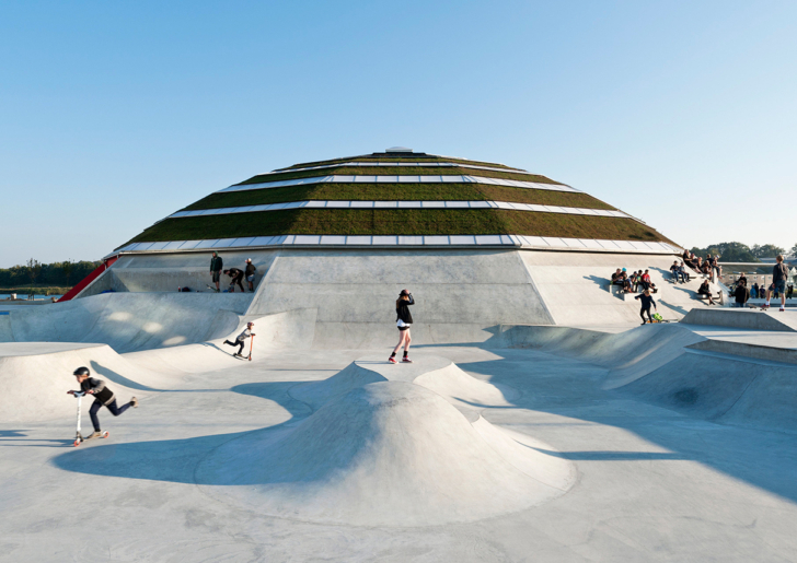 StreetDome Skate City by CEBRA and Glifberg+Lykke