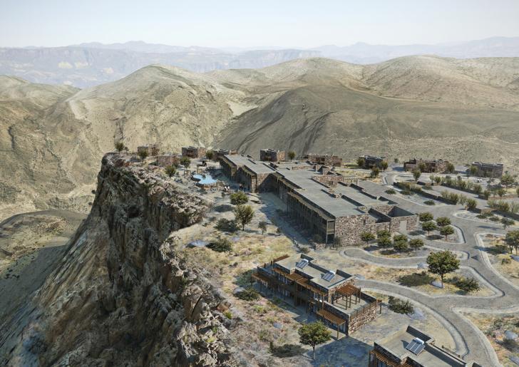 Alila Jabal Akhdar Cliff Hotel in Oman