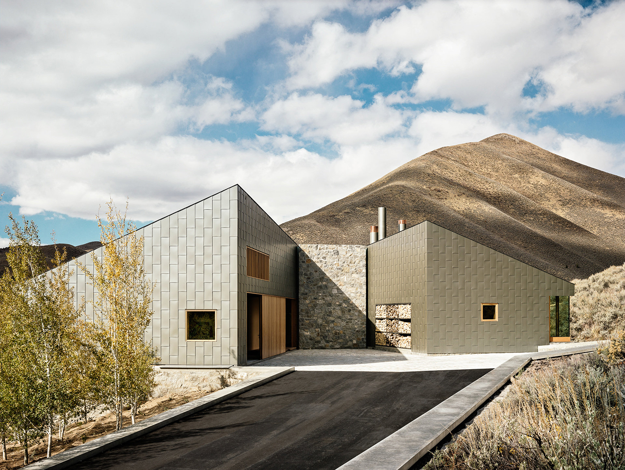 Sun Valley House by Rick Joy Architects | ideasgn