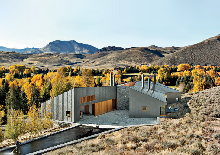 Sun Valley House By Rick Joy Architects Ideasgn