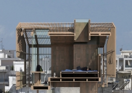 Athens rooftop Hut by deltArCHI