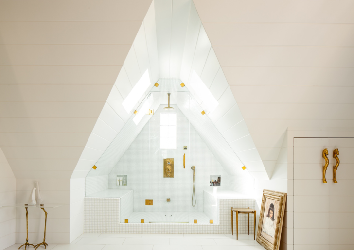 Designer Home: New Vintage Style Attic