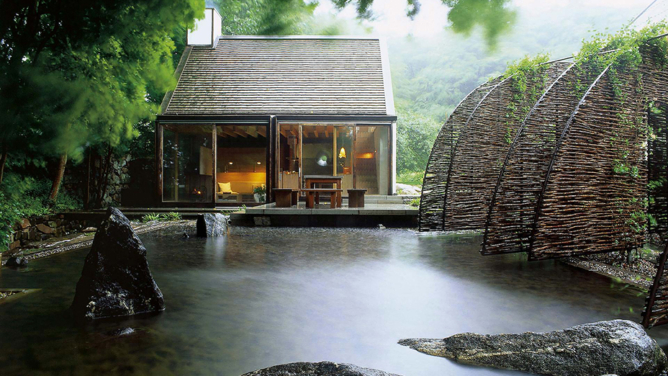 The Mill House and Sauna by Wingårdh