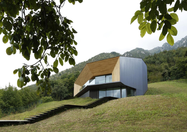 Alps Villa by Camillo Botticini Architect