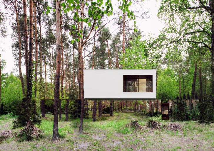 Mirrored Home by Reform Architekt